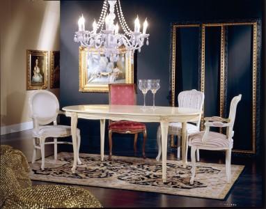 Art. 1003TO  Tavolo Ovale Luigi XV