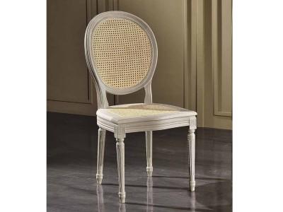 art. 90S/F Sedia luigi xvi con schienale e seduta cannata