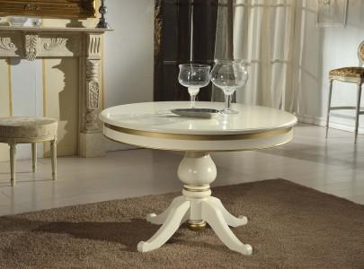 art. 850T tavolo tondo con gambone centrale