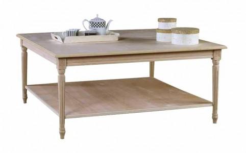 Art. 06T Tavolino Luigi XVI Quadrato Doppio Piano