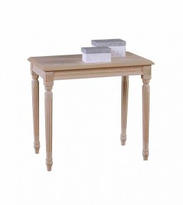 Art. 08T Tavolino Luigi XVI Rettangolare Intrecciato