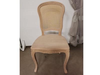 art. 101SAL/15  Sedia mara liscia con seduta  e schienale in  paglia fine