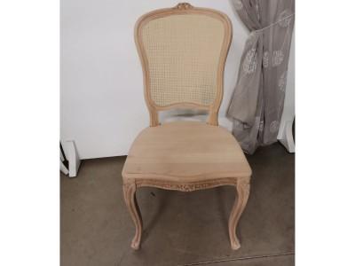 art. 101/15 Sedia mara con seduta legno e schienale paglia fine