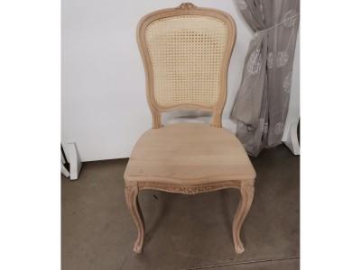 art. 101/14 Sedia Mara con seduta  legno schienale paglia di vienna
