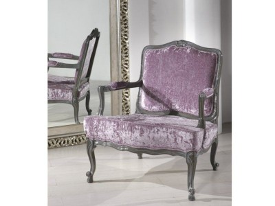 Art. 222PF Poltrona Margot con fiore