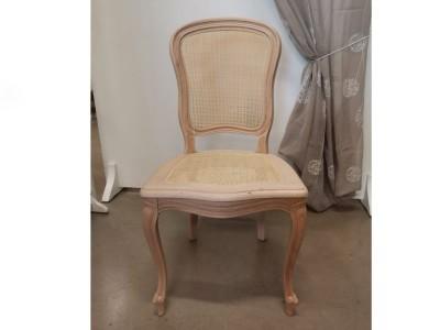 art. 276/13 Sedia 700 barocchetta con seduta e schienale in paglia fine