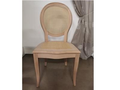 art. 91/13 Sedia Napoleone con seduta e schienale in paglia fine