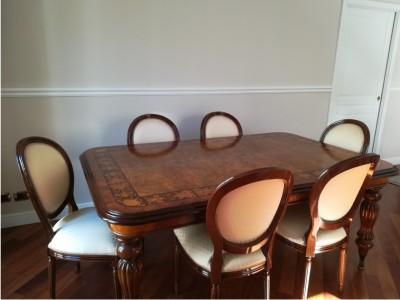 Le nostre sedie luigi xvi che arredano .........