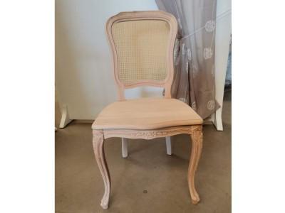 art.101SA/15  Sedia mara arcata con seduta legno e schienale paglia fine