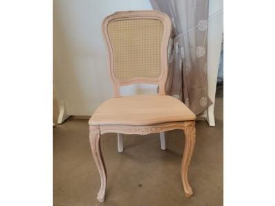 art. 101SA/14  Sedia mara arcata con seduta legno e schienale in paglia di vienna