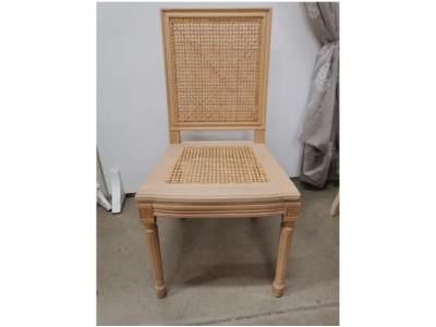art. 103S/canna Sedia luigi xvi quadra con seduta paglia di vienna