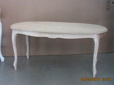 Art. 705T Tavolino Luigi XV Ovale 100X55