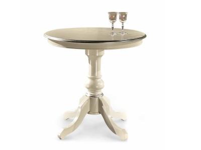 art. 860TAV Tavolino tondo d.80 con gambone centrale